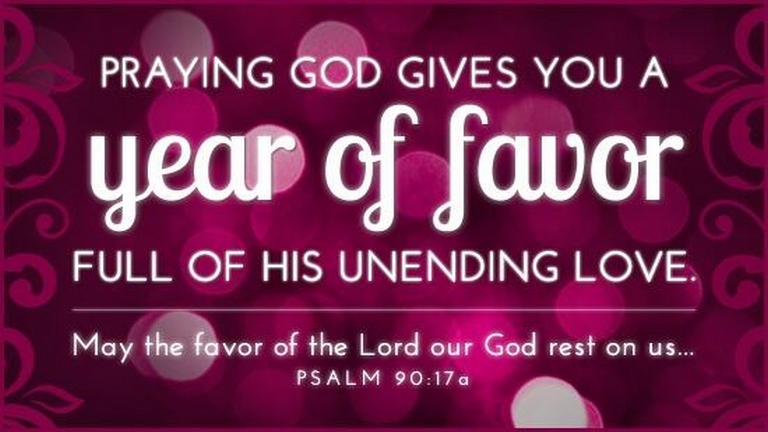 NEW YEAR FAVOR